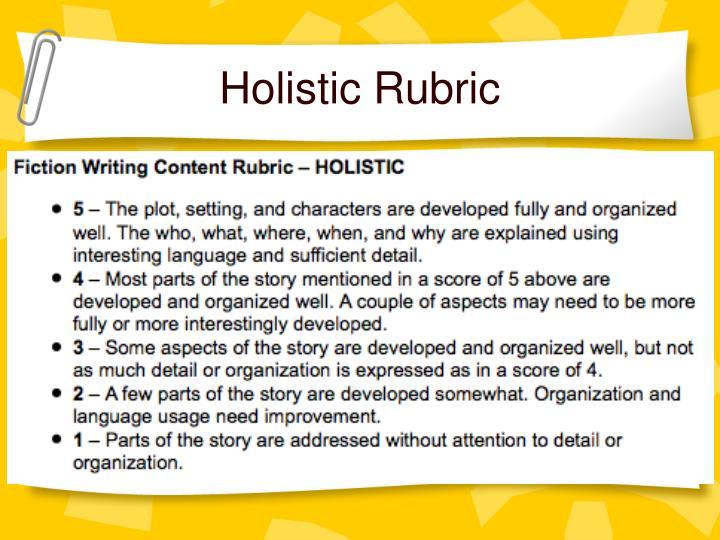 Holistic Rubric