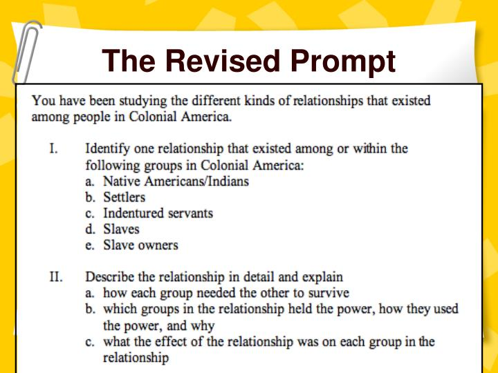 The Revised Prompt