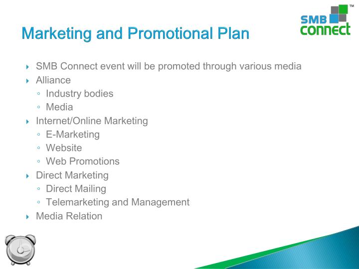 Marketing and Promotional Plan