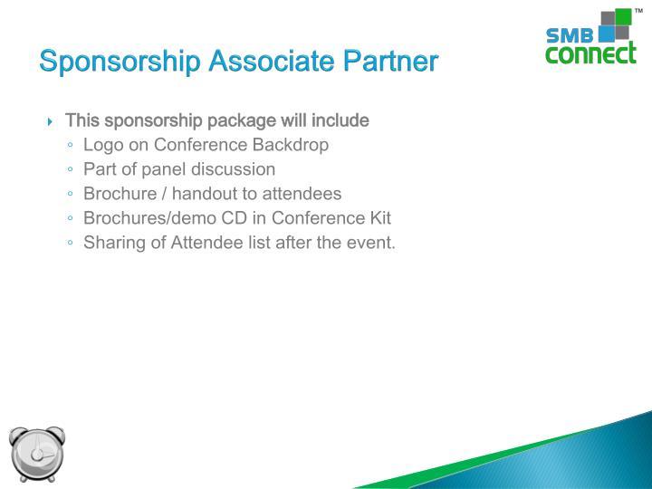 Sponsorship Associate Partner