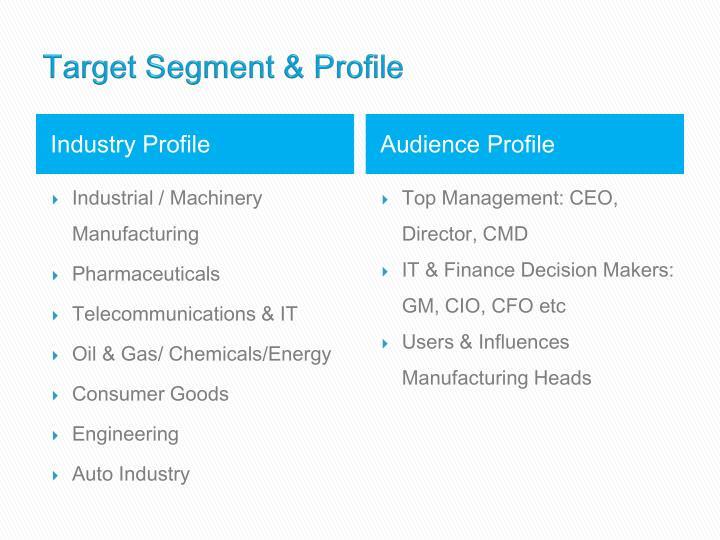 Target Segment & Profile