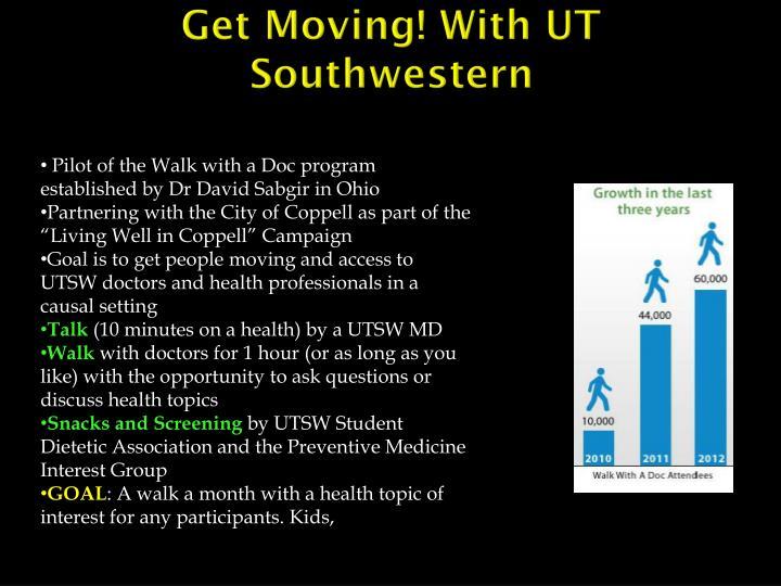 Get Moving! With UT Southwestern
