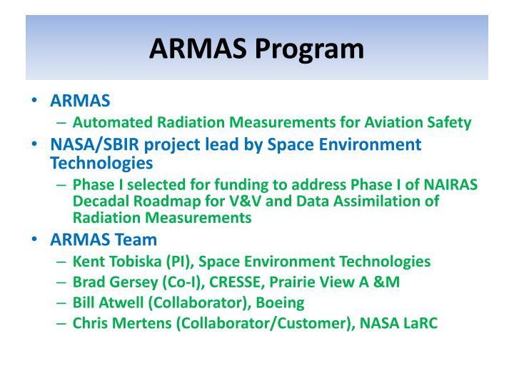 ARMAS Program