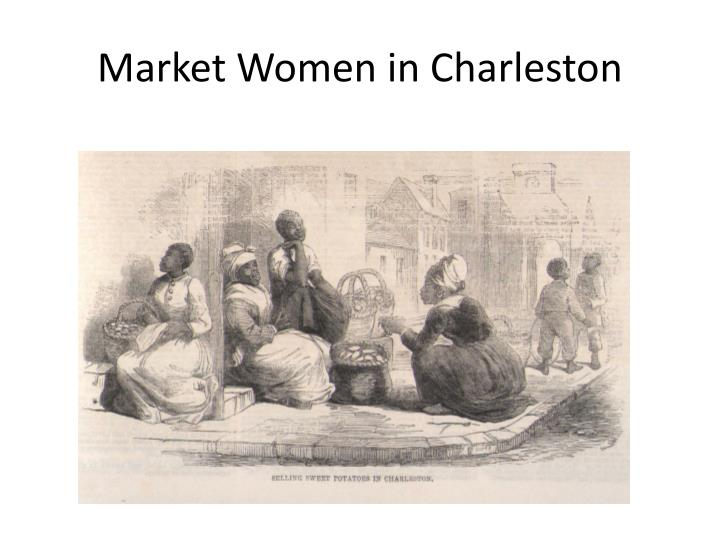 Market Women in Charleston