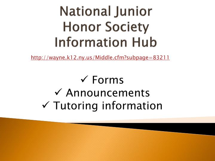 National Junior