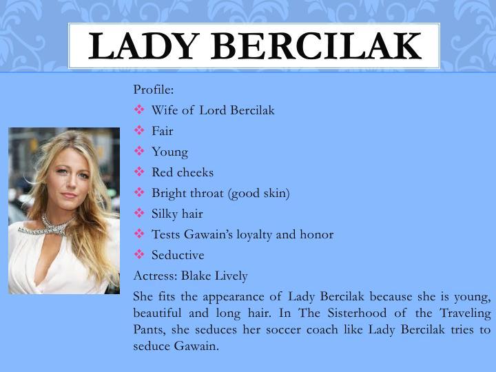 Lady Bercilak