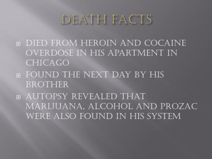 Death Facts