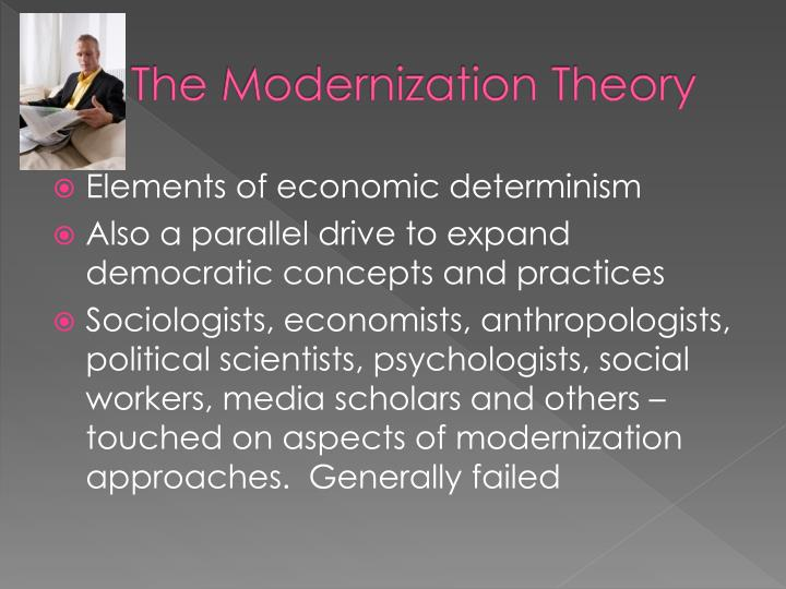 The Modernization Theory