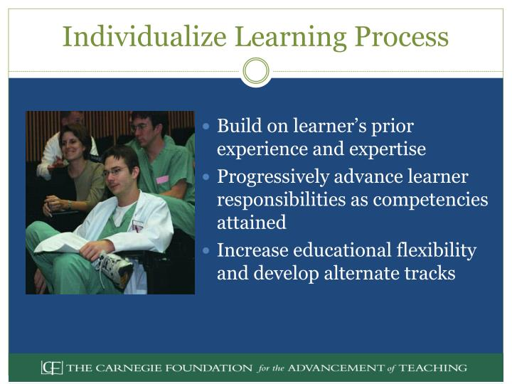 Individualize Learning Process