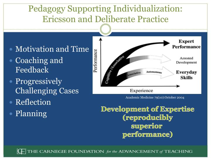 Pedagogy Supporting Individualization: