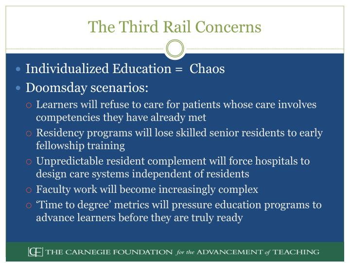 The Third Rail Concerns