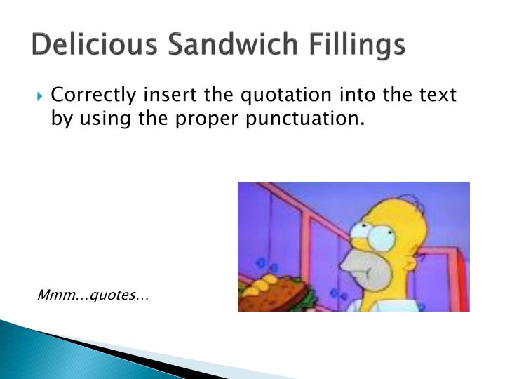 Delicious Sandwich Fillings