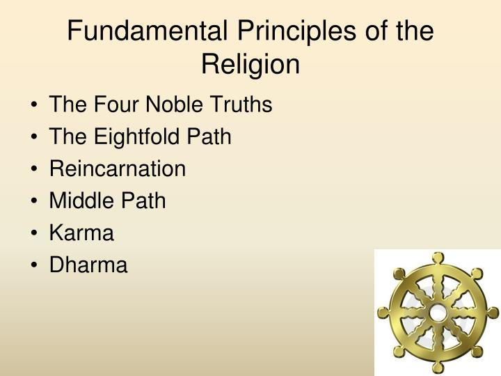 an analysis of the fundamental principle in religion Fundamental principles, which express the very reason for the movement's  existence and inspire and  religion, political opinions or any other similar  criteria are forbidden  an analysis of the principle of independence, to take  the.