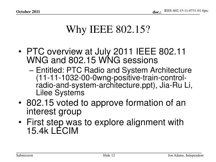 Ppt project ieee working group for wireless for Ieee 802 11 architecture