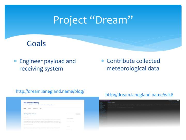 "Project ""Dream"""