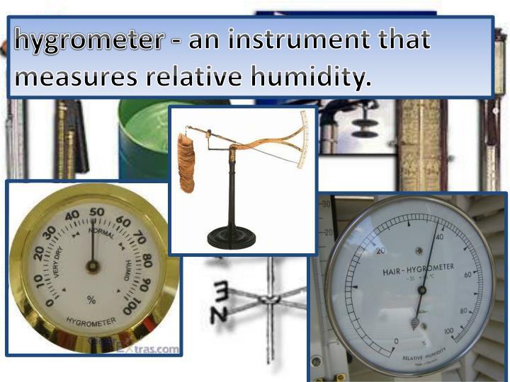 hygrometer -