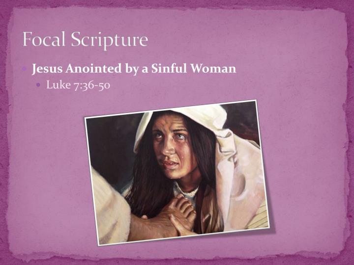 Focal Scripture