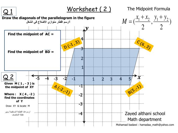 Worksheet ( 2 )
