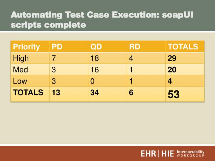 Automating Test Case Execution: