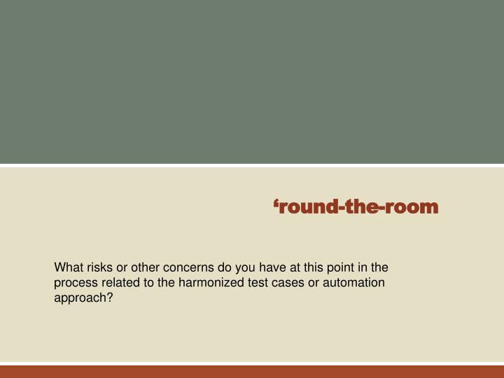 'round-the-room