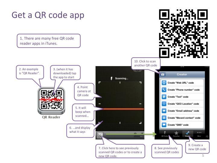 Get a QR code app