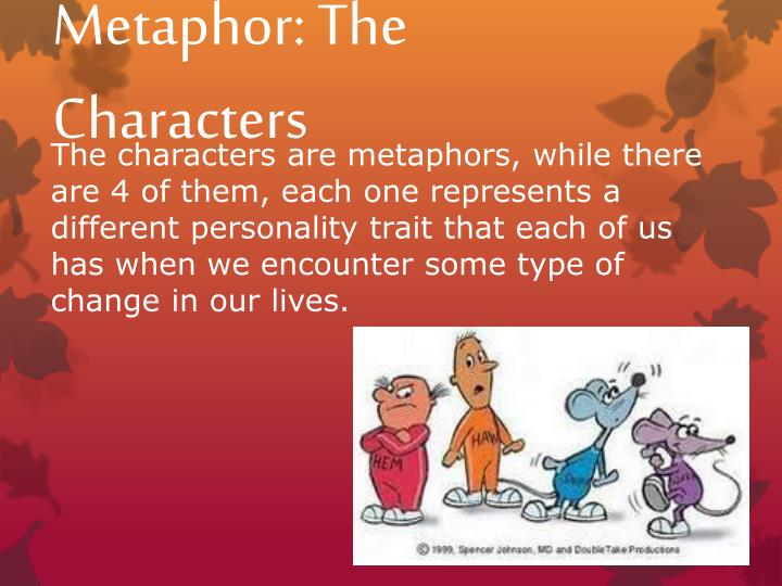 Metaphor: The Characters