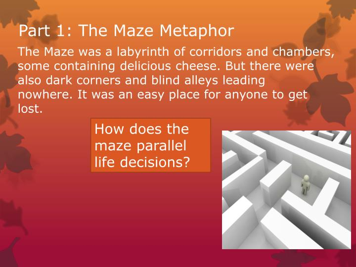 Part 1: The Maze Metaphor