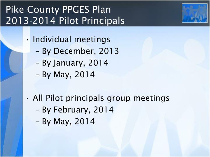 Pike County PPGES Plan
