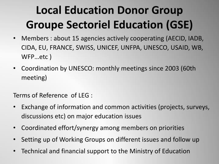 Local Education