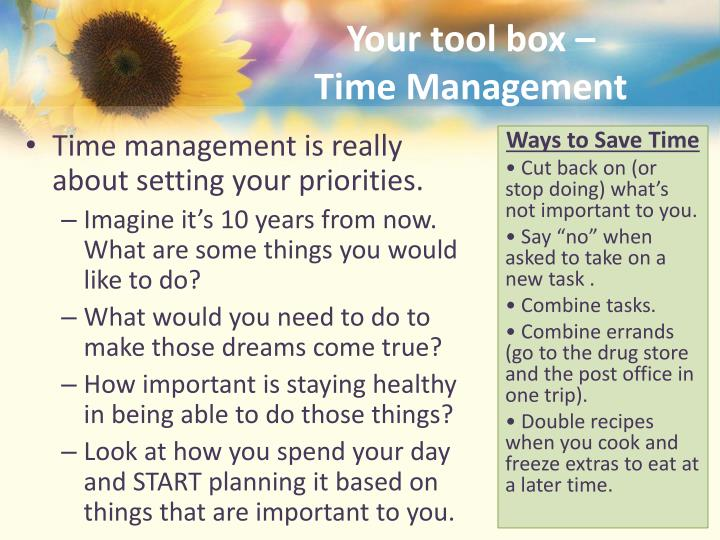 Your tool box