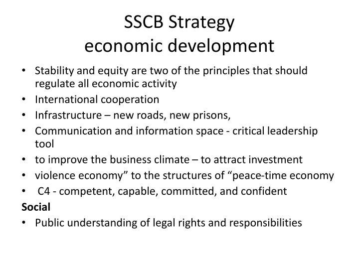 SSCB Strategy