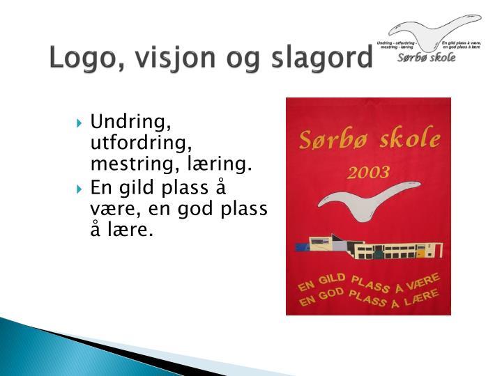 Logo, visjon og slagord