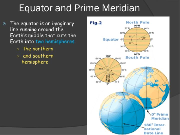 Similiar Highlighted Map With Equator And Prime Meridian Keywords