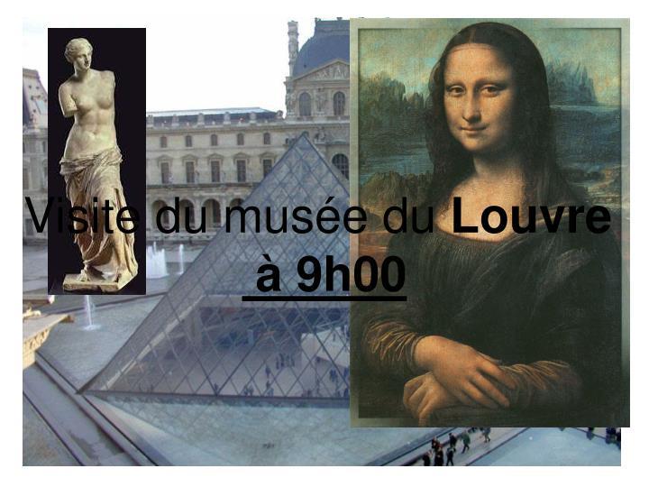 Visite du musée du
