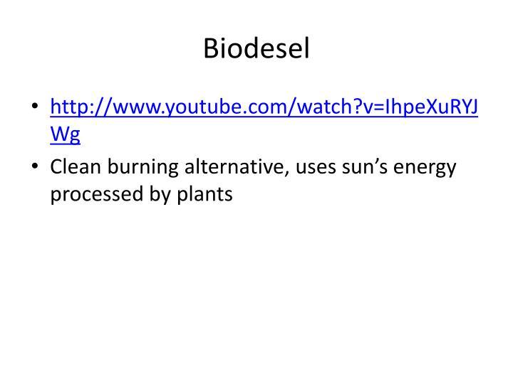 Biodesel