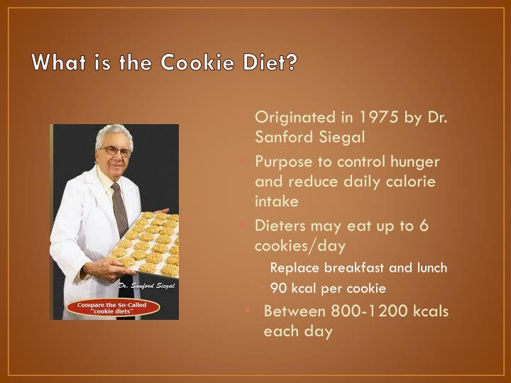 What is the cookie diet