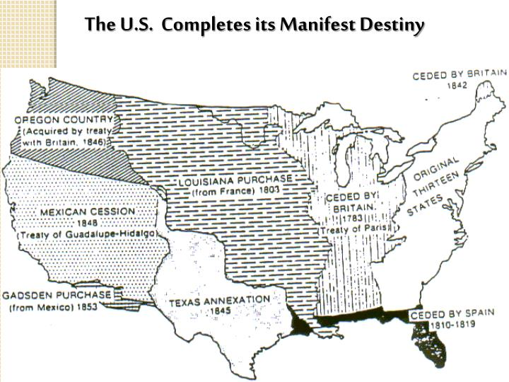 The U.S.  Completes