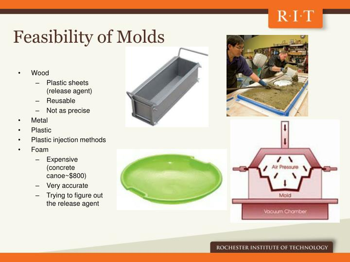 Feasibility of Molds