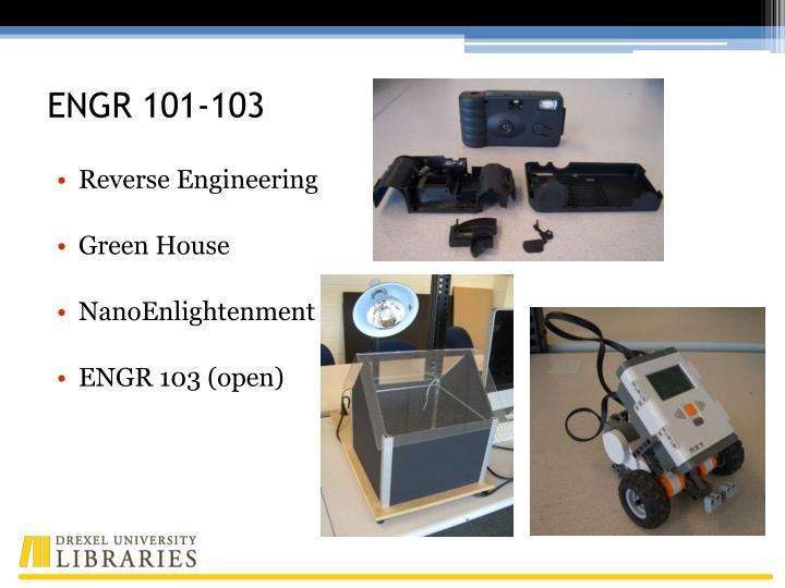 ENGR 101-103