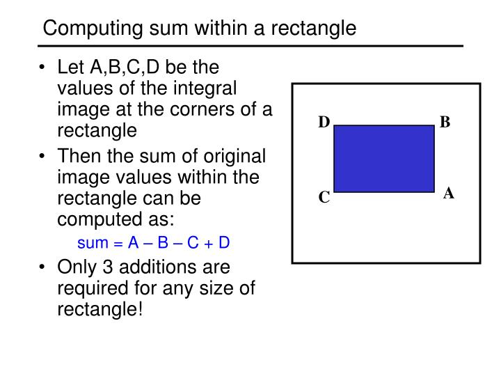 Computing sum within a rectangle