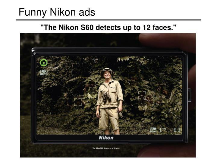 Funny Nikon ads