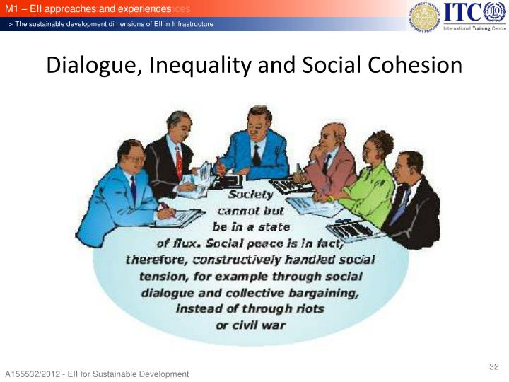 Dialogue, Inequality and Social Cohesion