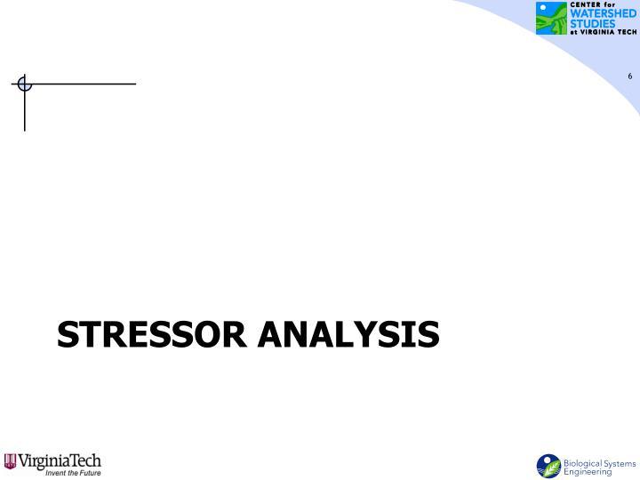 Stressor Analysis