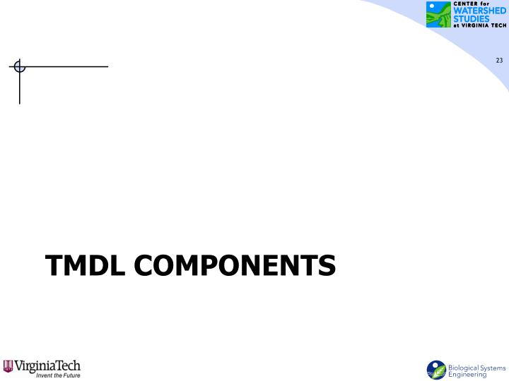 TMDL Components