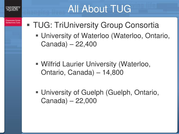 All About TUG