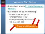 versions tab colour1