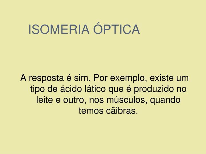 ISOMERIA ÓPTICA