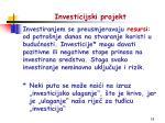 investicijski projekt1