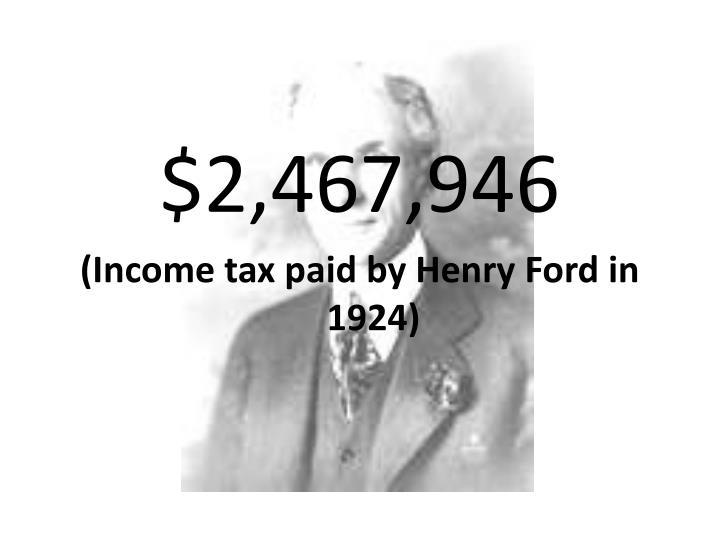 $2,467,946