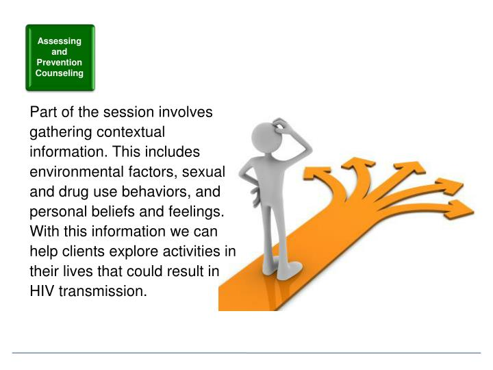 Assessing and Prevention Counseling